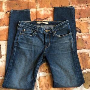 Big Star Slim straight skinny jeans size 26